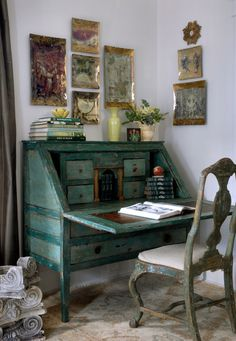 Home office BIG, EASY STYLE: Creating Rooms You Love to Live in by Bryan Batt - Shop - Get the Look