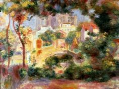 Pierre Auguste Renoir: View of the New Building of the Sacre-Coeur - 1896