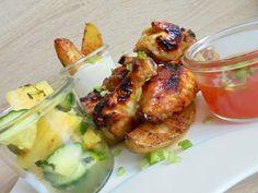 Thai csirkeszárnyak ananászos uborkasalátával Chicken, Food, Essen, Meals, Yemek, Eten, Cubs