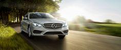 Mercedes-Benz E class in motion. #mbofsantarosa
