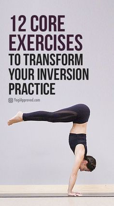 Ready to Completely Transform Your Inversion Practice? Do These 12 Core Exercises The core can be hard to grasp or tangibly activate but it's essential for inversions. Practice these 12 core exercises to transform your inversion practice. Yoga Fitness, Physical Fitness, Fitness Tips, Health Fitness, Yoga Inversions, Yoga Sequences, Handstands, Ashtanga Yoga Poses, Yoga Challenge