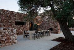 Casa nel bosco di ulivi Morciano di Leuca / Italia / 2011 - Luca Zanaroli Architetto