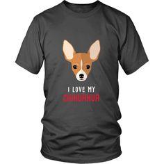 I love my Chihuahua Dogs T-shirt