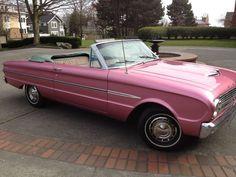 1963 Pink Ford Falcon Futura