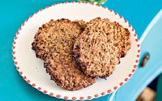These vanilla oat cookies are a real go-to of mine as they