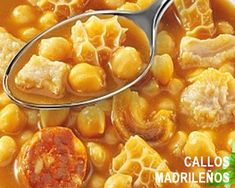 Callos con garbanzos Spanish Cuisine, Spanish Dishes, Spanish Food, Mexican Food Recipes, Beef Recipes, Cooking Recipes, Drink Recipes, Bon Appetit, Guisado