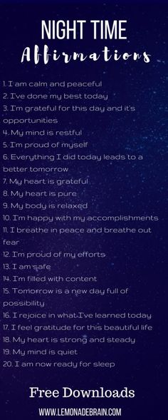 "I'm a big believer in positive self talk and affirmations. Our thoughts are a powerful thing, and so I like to start my day and end my day right by talking ""positive"" to myself. However, sometimes, especially when the day has been lack luster, it can be hard"