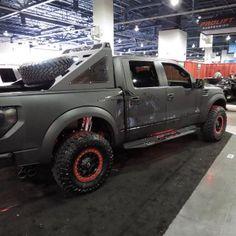 Custom Ford Raptor at SEMA built by ADD