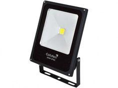 Refletor Fit Ultra LED 50W 2700K - Golden com as melhores condições você encontra no Magazine Eraldoivanaskasj. Confira!