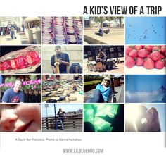 Photo Book Ideas: Kid's photography. Give your kids their own camera during a trip. AWESOME IDEAS!!!