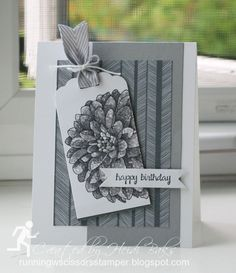 Control Freaks Simple & Elegant Blog Tour by Runningwscissorsstamper, Stampin' Up!, Regarding Dahlias, And Many More, Pointillism