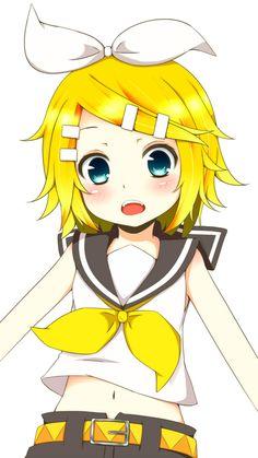 Rinny-chan, you look so kawaii!