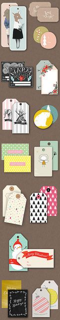 Free printable gift tags roundup by ohthelovelythings