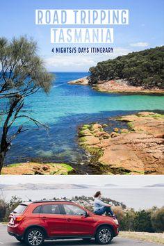 road trip in Tasmania - 4 nights / 5 days itinerary Australia Funny, Australia Country, Visit Australia, Australia Day, Tasmania Road Trip, Tasmania Travel, Croatia Travel, Thailand Travel, Bangkok Thailand