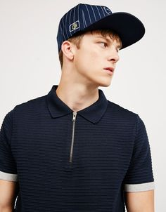 Textured zip polo. Discover this and many more items in Bershka with new…