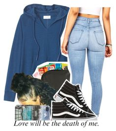"""."" by trillest-queen ❤ liked on Polyvore featuring Toast and Vans"