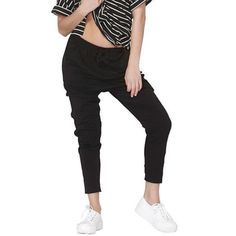 The essential black drop crutch pants only $39.95 available now #mix #shop3280 #fashion #shopaholic # shoplocal #ontrend #styling #doubletap # instagashion #ilovemix by mixitupboutique