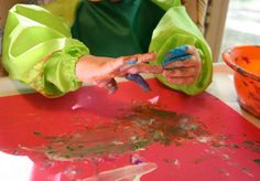 5 Fun Finger Paint Craft Ideas for Kids -- go ahead, get messy!
