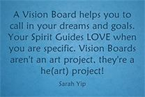 How to make a super powerful Vision Board for 2016. Call in your good for 2016 by the New Moon on 10 Jan!