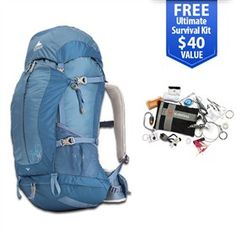 Gregory Jade 38 Nordic Blue - Medium is a lightweight pack offers a host of technical features designed to improve your comfort.