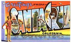 Santa Cruz, Kalifornien / California - Vereinigte Staaten von Amerika / United States of America / USA