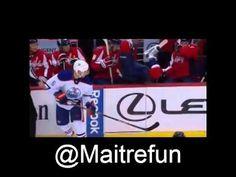 Hockey Bloopers - Mike Green head over heels Channel, Of Montreal, Head Over Heels, Hockey, Baseball Cards, Green, Field Hockey