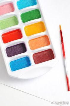 Learn how you can make your very own homemade water color paints from home.