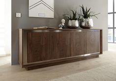 Modern buffet cabinet - Your buffet cabinet is your showcase, but how are you going to set up a sideboard? Furnishings, Modern Buffet, Furniture, Interior, Dining Room Sideboard, Contemporary Sideboard, Italian Dining Table, Modern Sideboard, Wooden Sideboard