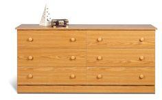 Oak Edenvale 6 Drawer Dresser – Wholesale Furniture Brokers