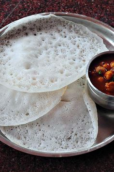 How to Make Spongy Appam with Yeast - Kerala Appam Recipe
