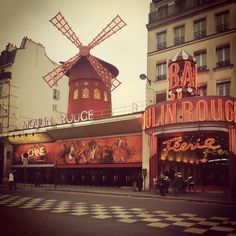 Moulin Rogue, Paris, France