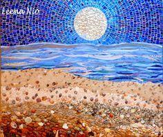 MOSAIIKKI  LEENA NIO - MOSAIQUE MAGIQUE: Moonlight beach