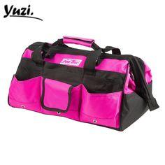 PINK BOX Original Heavy Duty Proffesional Mechanics Nylon Tool Bag 16-Inch(Pink)   Home & Garden, Tools, Tool Boxes, Belts & Storage   eBay!