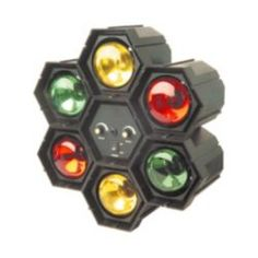 Check out 6 Multi Colour Disco DJ Pod Lights Sound Activated from Tesco direct