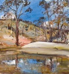 arthur boyd (australian landscape with dam _ collection art paysage moderne contemporain (landscape painting) Australian Painting, Australian Artists, Landscape Artwork, Landscape Pictures, Arthur Boyd, Art Archive, Painting Inspiration, Art Inspo, Art Oil