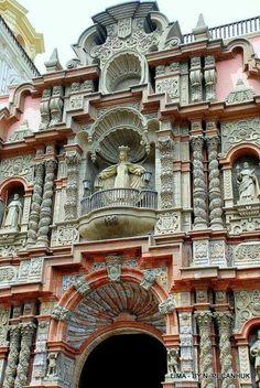 Basilica de Lima, Peru.