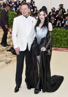 c517d8075 Tesla CEO Elon Musk Is Dating Singer Grimes Months After Splitting from  Amber Heard  Source — People. Gala dressesNice ...