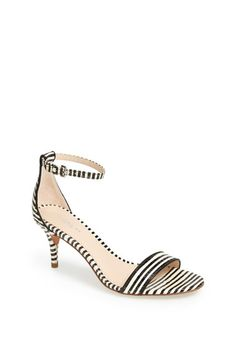 striped minimal sandals (good for a wedding) // from @Nordstrom