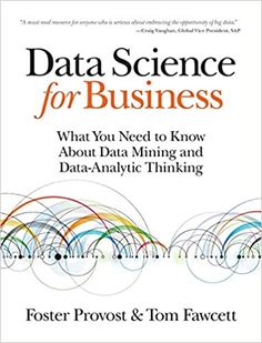 Data Science for Business: What You Need to Know about Data Mining and Data-Analytic Thinking is a must-read book for anybody wanting to apply data science to business. Check it out! #datascience #datascienceforbusiness #datamining #dataanalysis  | This is an affiliate link. Data Science, Science Des Données, Science Books, Big Data, Data Data, Robert Kiyosaki, Computer Technology, Computer Science, Computer Programming