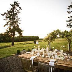 Oregon Wine Country Wedding Venues