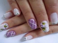 Carina Oliveira Unhas decoradas - YouTube