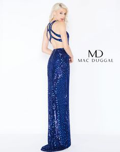 342fa633836 Sequin prom dress with open strappy back. Style  4666M Sequin Prom Dresses
