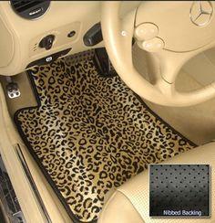 Pinterest : @MazLyons animal print - floor mats