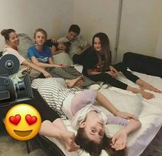 Why is haley laying on hayden and why is annie and hayden so close hanniev