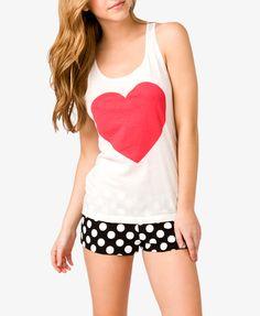 Hearts & Dots PJ Set