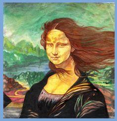 0620 Jun Dayo - Mona Lisa 3D electric fan 1