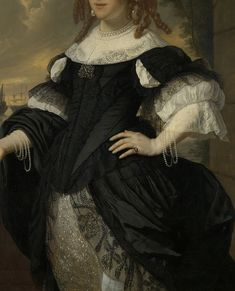 Baroque Fashion, European Fashion, Corsage, 17th Century Fashion, Wedding Story, Portrait, Fashion History, Clothing Patterns, Art History