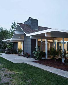 Реконструкция дома Гейбла Эйхлера от студии Klopf Architecture