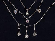 Multi-Color Flower Necklaces