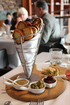 Fantastic way to serve a platter